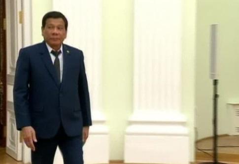 Duterte trông chờ sự yểm trợ quân sự của Nga để chống ISIS