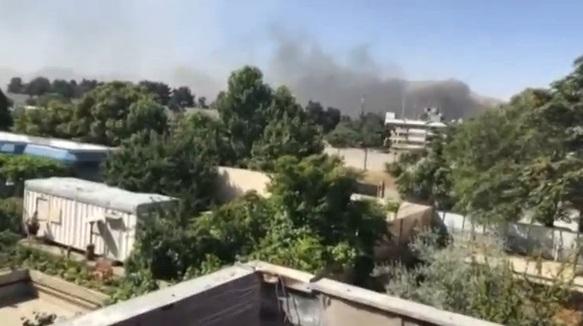 Xe bom nổ gần tòa đại sứ Đức ở Kabul: 80 người chết, 350 người bị thương