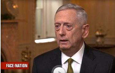Bộ Trưởng Quốc Phòng Mattis: chiến tranh với Bắc Hàn sẽ là thảm họa