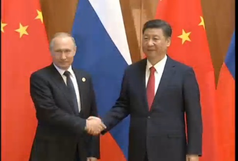 Tập Cận Bình: Nga và Trung Cộng đóng vai trò duy trì hoà bình và ổn định trong vùng