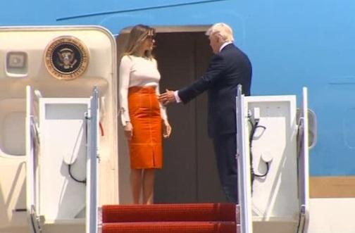 Tổng thống Trump bắt đầu chuyến công du nước ngoài đầu tiên