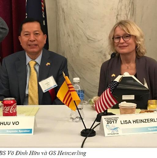 """Giải pháp """"3 C"""" của Bác Sĩ Võ Đình Hữu tại Hội Thảo Quốc Tế Về Formosa tại Washington D.C"""