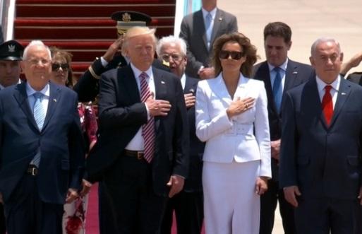 Tổng thống Trump thăm Israel nỗ lực khôi phục các cuộc hòa đàm