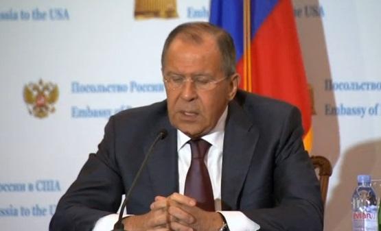 Ngoại trưởng Nga tổ chức họp báo sau khi gặp tổng thống Trump