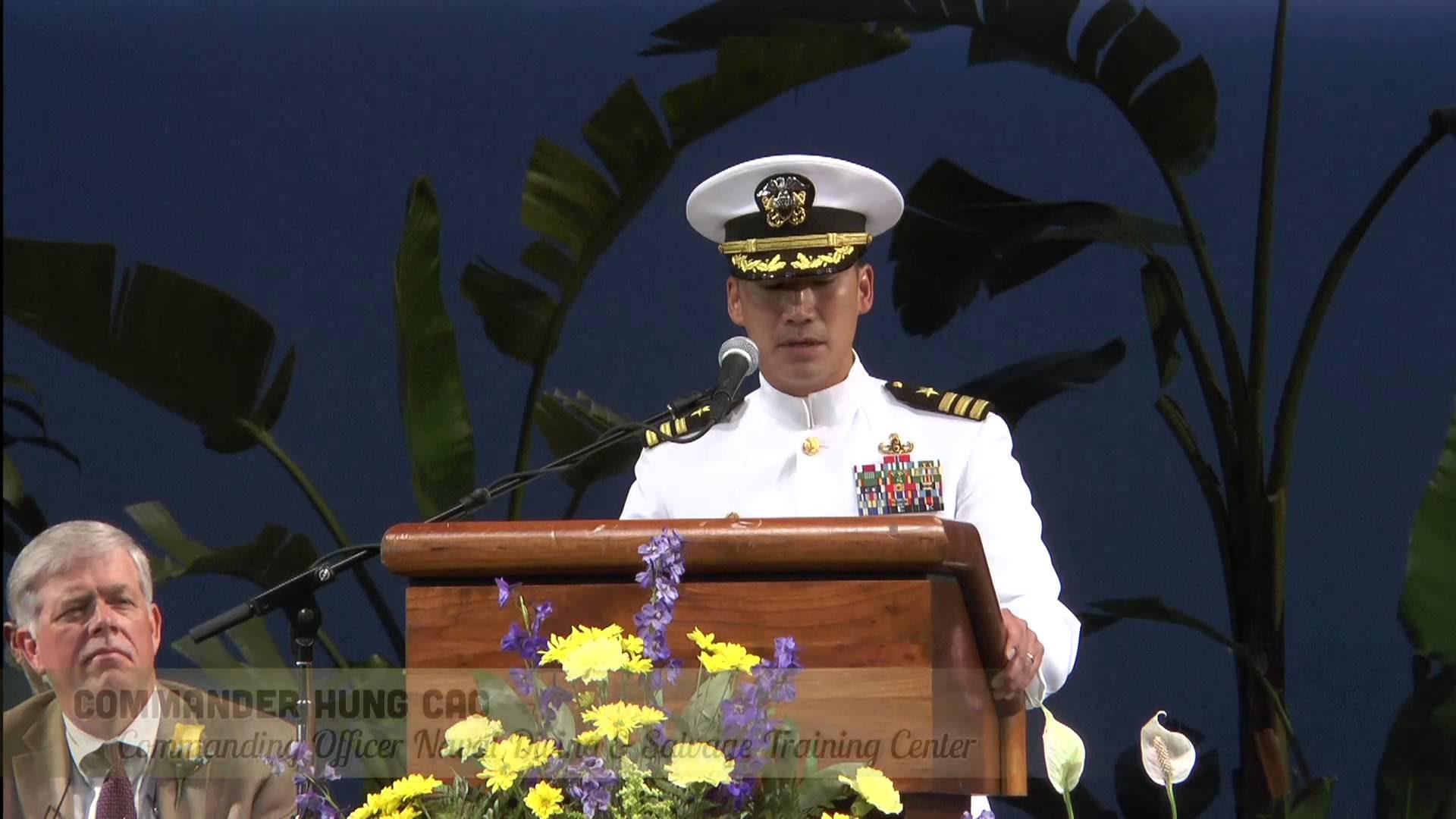 Hải Quân Trung Tá Cao Hùng được đề cử thăng cấp Đại Tá