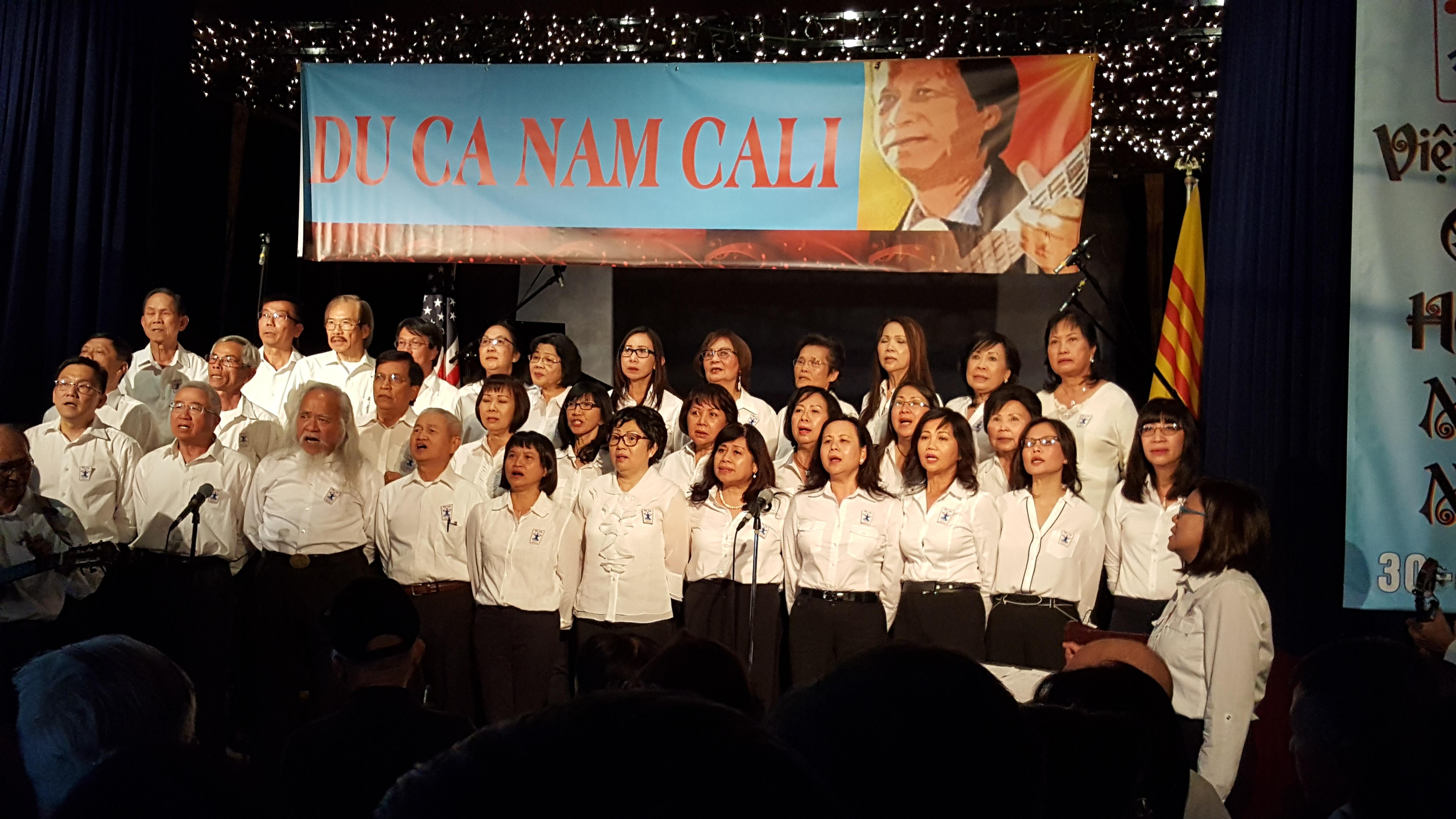 Đoàn Du Ca Nam Cali tổ chức chiều nhạc Du Ca tưởng niệm Tháng Tư Đen