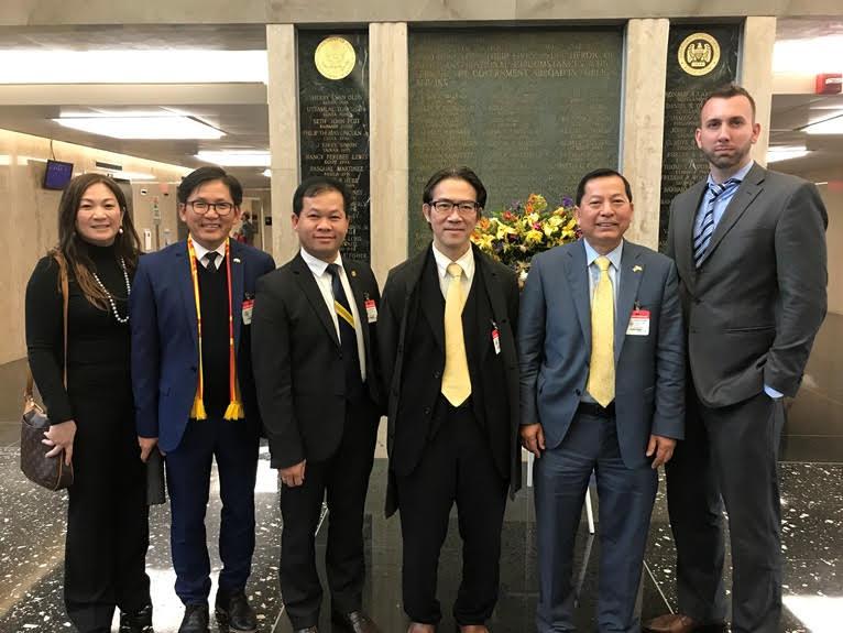 Phái đoàn cộng đồng người Việt hải ngoại gặp bộ ngoại giao Hoa Kỳ