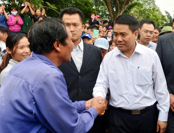 Chủ tịch Hà Nội: có ký cam kết với người dân Đồng Tâm nhưng không đóng dấu