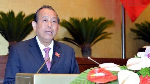 Nhà nước CSVN sẽ 'xử nghiêm người lợi dụng khiếu kiện để gây rối'