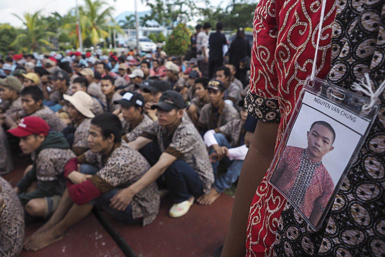 Indonesia trao trả gần 700 ngư dân Việt Nam vì thiếu chỗ giam giữ