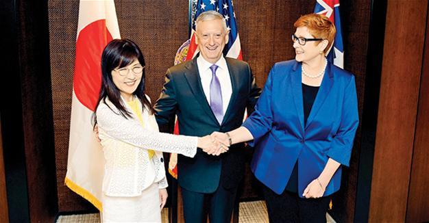 Báo Trung Cộng chế giễu liên minh Úc, Nhật, Ấn, Việt