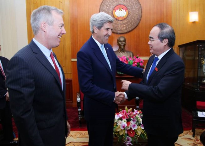 Cựu ngoại trưởng Hoa Kỳ John Kerry thăm lại Việt Nam