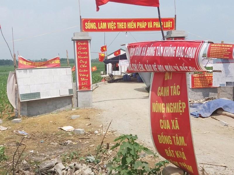 Quốc hội CSVN cấm quân đội dùng đất công để kinh doanh?