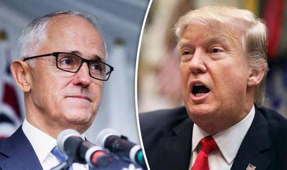 Thủ Tướng Úc nhái lời, chế giễu Tổng Thống Donald Trump thắng cử nhờ người Nga