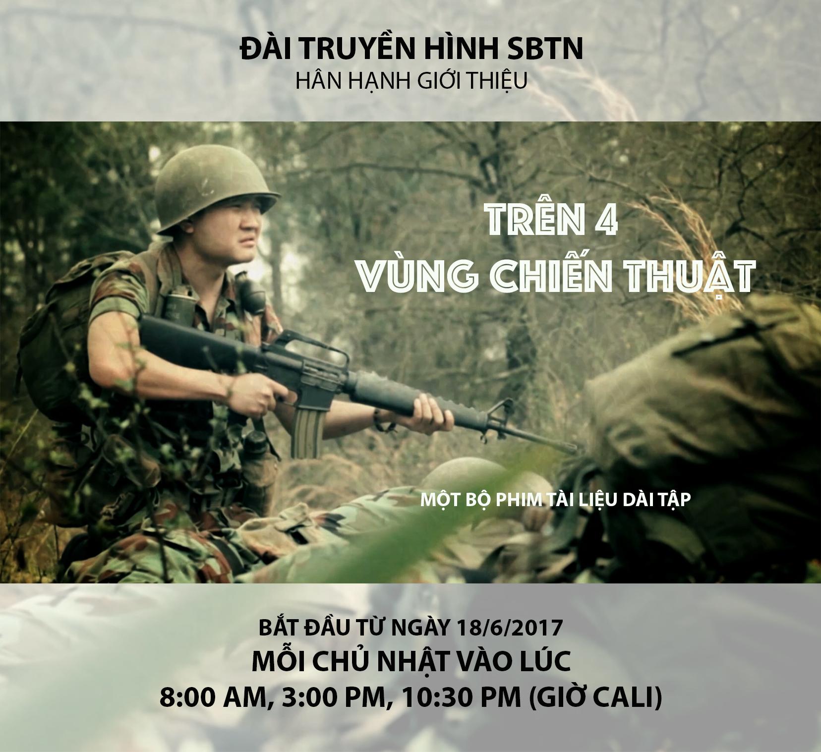 """SBTN chuẩn bị trình chiếu và ra mắt DVD bộ phim tài liệu """"Trên Bốn Vùng Chiến Thuật"""""""