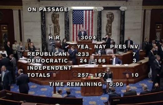 Hạ Viện thông qua dự luật về di dân bất hợp pháp được tổng thống Trump ủng hộ