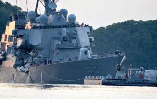 Thi thể 7 thủy thủ bị mất tích trên USS Fitzgerald được tìm thấy trong khoang bị ngập nước