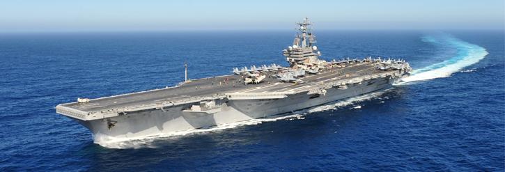 Hải quân Hoa Kỳ và Nhật tập trận lớn gần bán đảo Triều Tiên