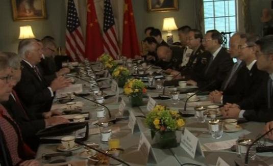 Các viên chức cao cấp của Hoa Kỳ và Trung Cộng hội đàm về vấn đề Bắc Hàn