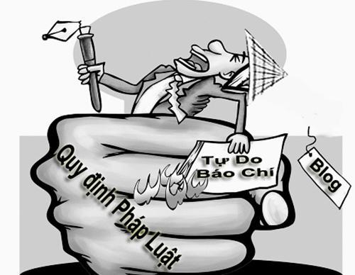 Báo  chí cộng sản tai điếc, mắt thông manh (Phạm Trần)