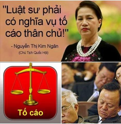 Quốc hội CSVN thông qua luật hình sự đòi luật sư phải tố cáo thân chủ
