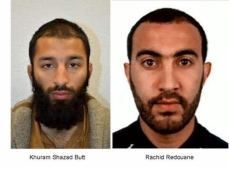 Anh công bố danh tính 2 kẻ tấn công London