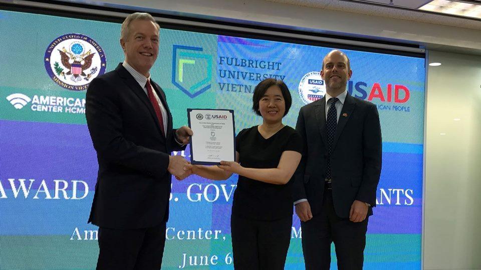 Mỹ cung cấp 15.5 triệu Mỹ Kim cho đại học Fulbright Việt Nam