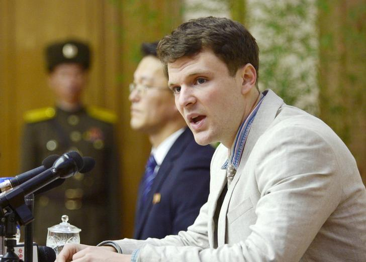 Sinh viên Mỹ bị mất nhiều mô não không rõ nguyên nhân sau khi được Bắc Hàn trả tự do