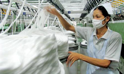 Sợi tổng hợp Việt Nam bị Hoa Kỳ điều tra bán phá giá
