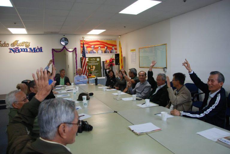 Nam Cali họp bàn tổ chức ngày tưởng niệm Cố Tổng Thống VNCH Nguyễn Văn Thiệu