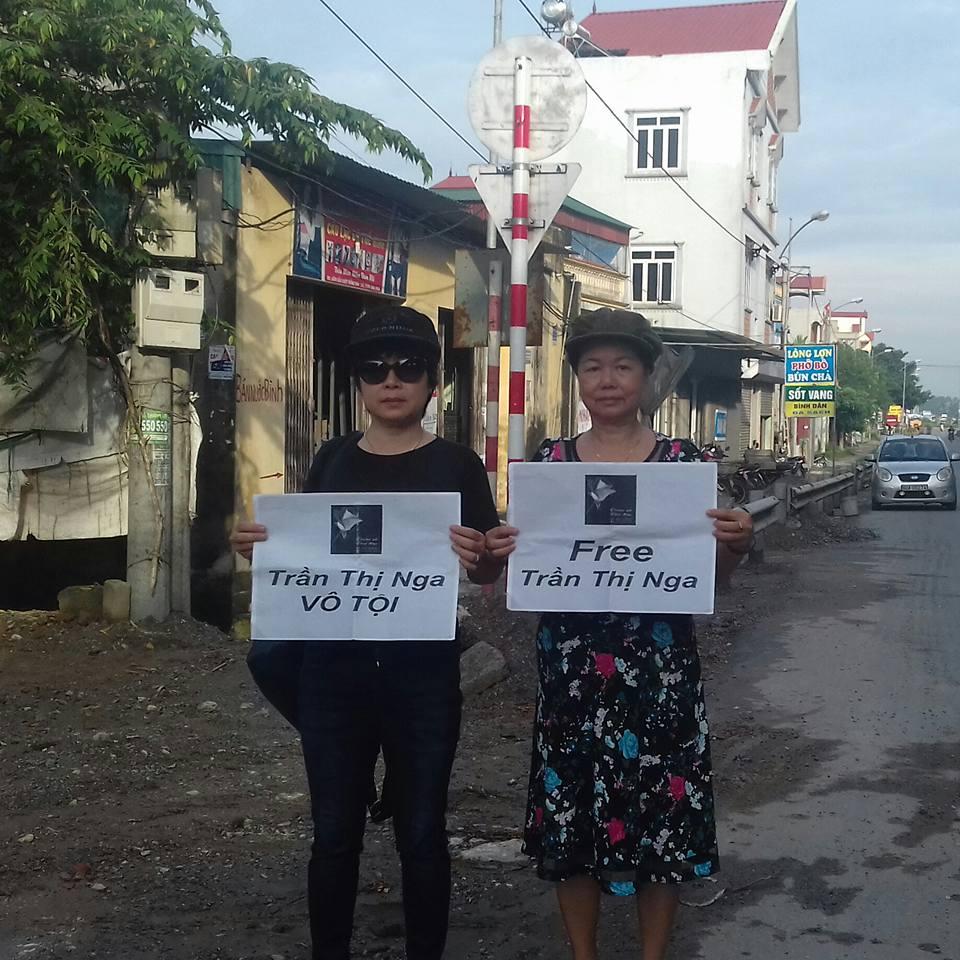 Viện kiểm sát đề nghị 9-10 năm tù cho nhà hoạt động Trần Thị Nga