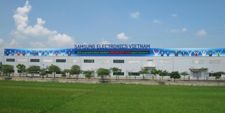 Kinh tế Việt Nam tăng trưởng phần lớn nhờ Samsung