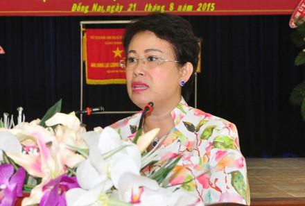 Đồng Nai không hay biết phó bí thư tỉnh ủy 'chống lưng cho chồng'