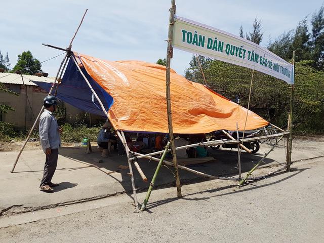 Người dân Quảng Nam lại chặn nhà máy thép gây ô nhiễm