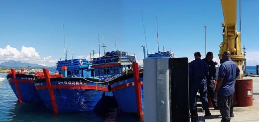 Ba thuyền trưởng tàu cá Việt Nam bị Solomon Islands phạt 11 triệu Mỹ kim