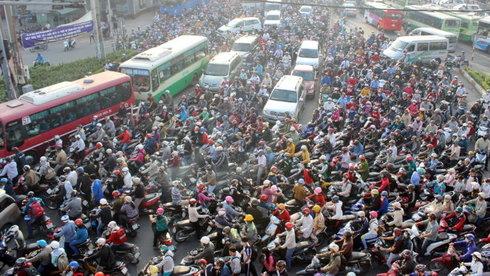 Sau Hà Nội đến lượt Đà Nẵng và Sài Gòn lên lộ trình cấm xe máy đến năm 2030