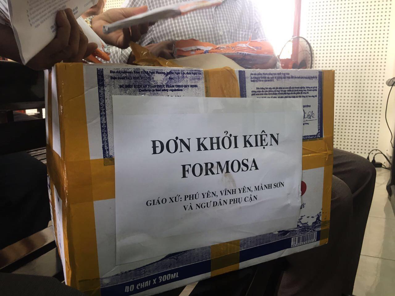 Ngư dân huyện Quỳnh Lưu, Nghệ An tiếp tục khởi kiện Formosa