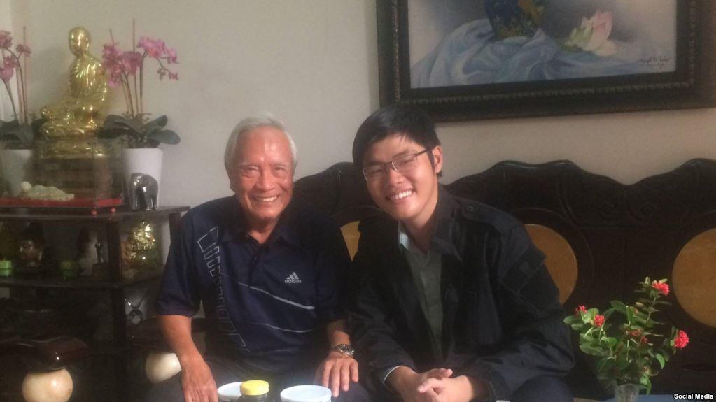'Hội Sinh Viên Nhân Quyền Việt Nam' ra mắt nhân dịp sáng lập viên Trần Hoàng Phúc bị bắt