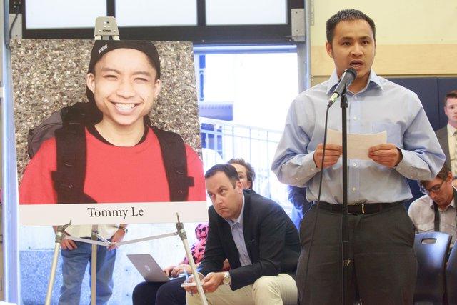 Cảnh sát Quận Hạt King- Washington sẽ nhờ FBI điều tra vụ bắn chết học sinh Tommy Lê