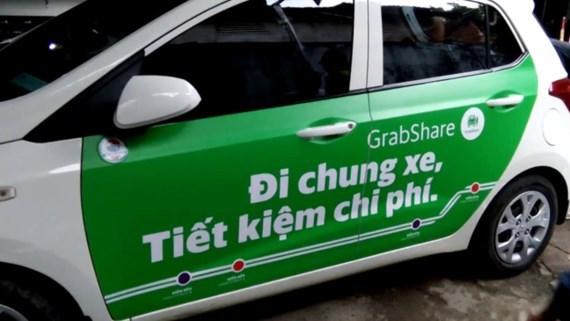 Hà Nội cấm dịch vụ đi chung xe của Grab