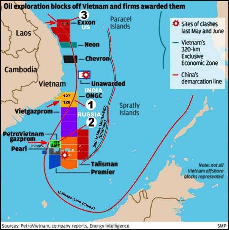 Hoạt động khoan dầu ở Bãi Tư Chính của Việt Nam có thể phải ngưng dưới áp lực Trung Cộng