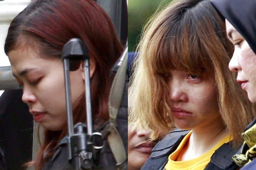 Hai nghi can sẽ không nhận tội trong vụ ám sát ông Kim Jong Nam