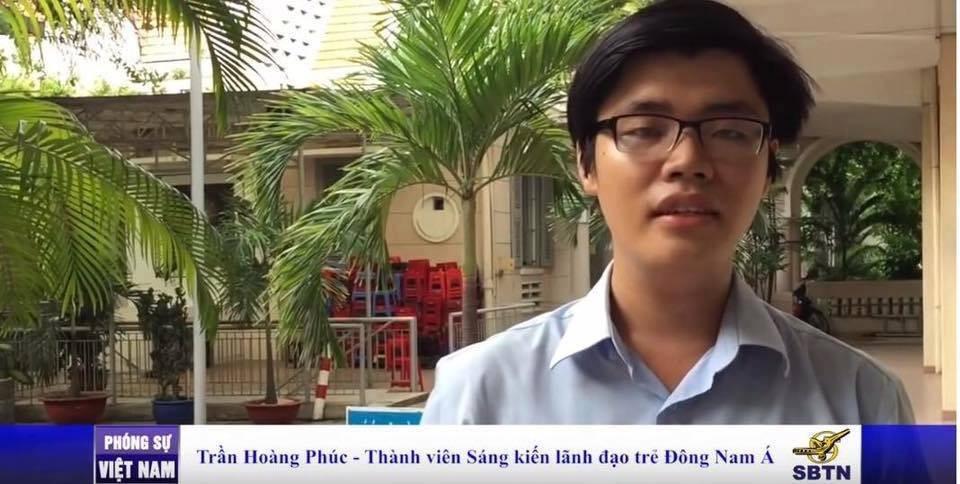 Nhà hoạt động trẻ Trần Hoàng Phúc bị bắt theo điều 88