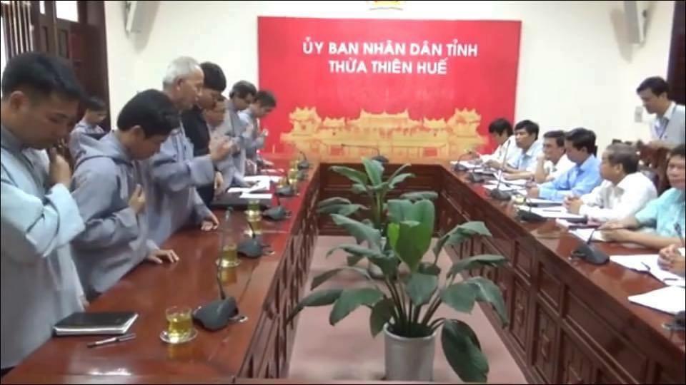 Cuộc đối thoại giữa Đan viện Thiên An với chính quyền CSVN Thừa Thiên Huế không có kết quả
