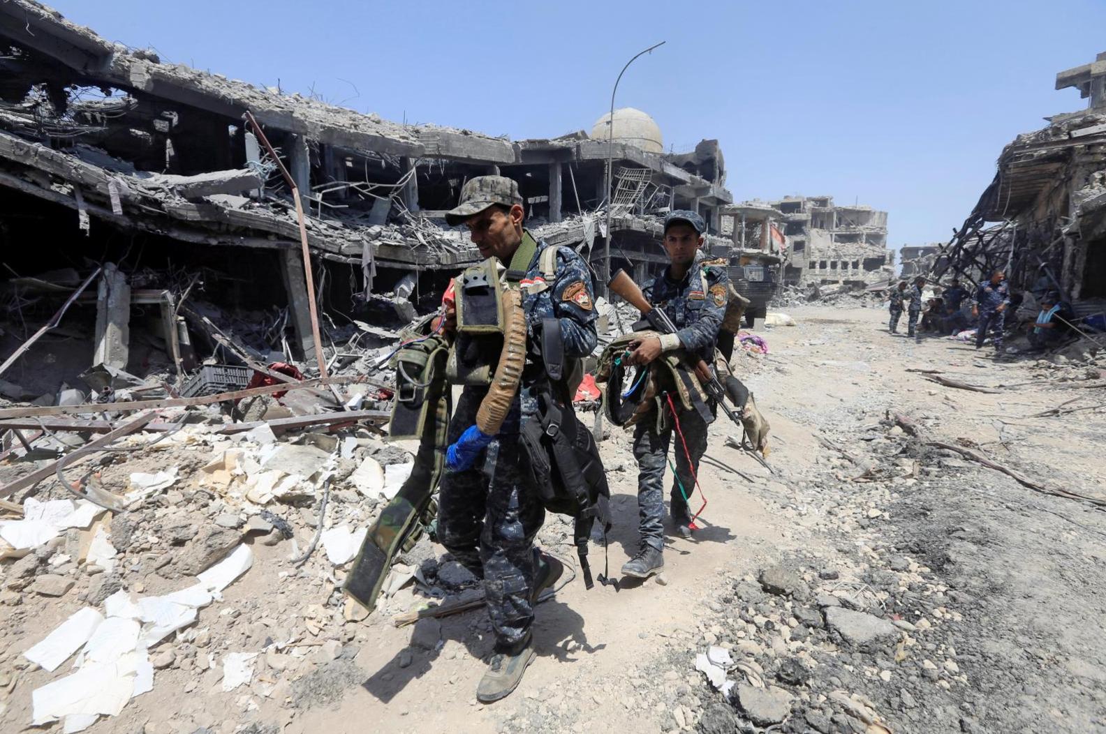 Phiến quân Nhà Nước Hồi Giáo đầu hàng tại Mosul