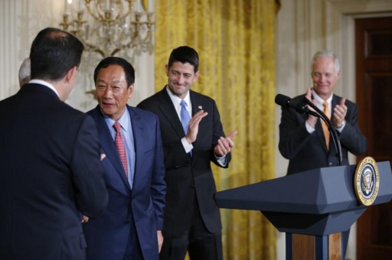 Foxconn thông báo tại Tòa Bạch Ốc sẽ xây dựng nhà máy 10 tỷ Mỹ kim ở Wisconsin