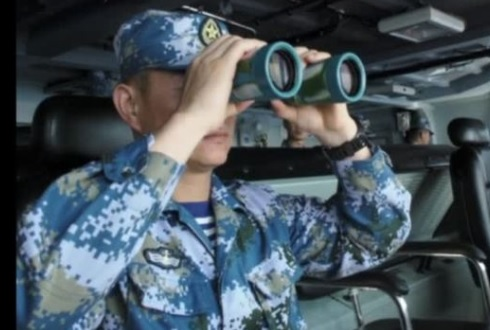 Trung Cộng tập trận hải quân gần bán đảo Triều Tiên