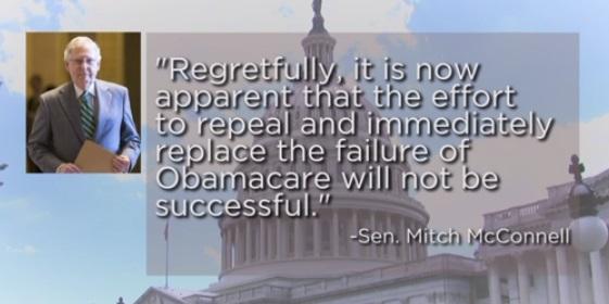 Thượng viện tiếp tục thất bại trong nỗ lực xóa bỏ và thay thế Obamacare