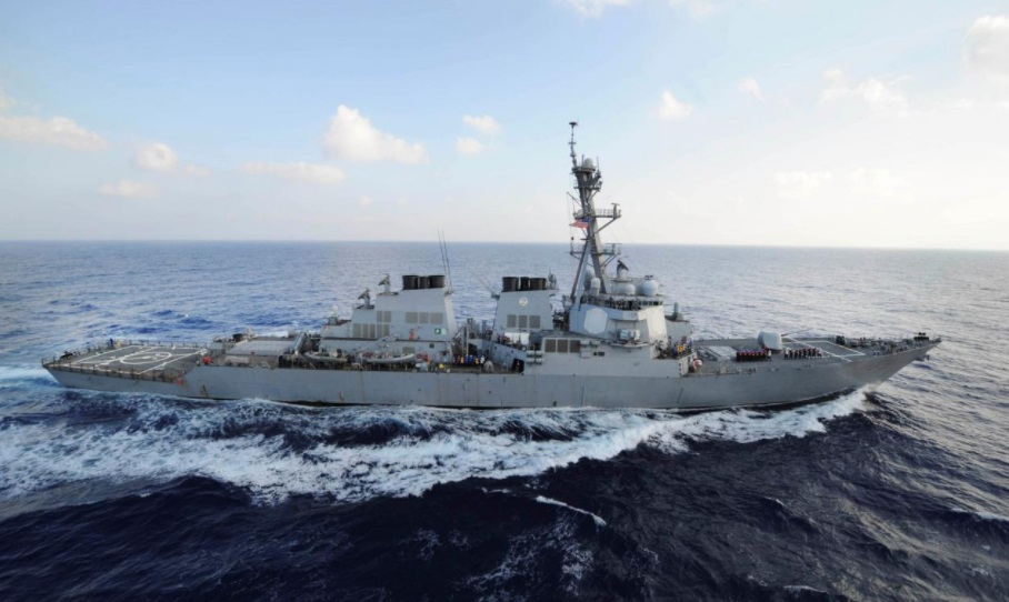 Tuần dương hạm Mỹ bắn cảnh cáo chiến hạm Iran tiến đến quá gần tại Vịnh Ba Tư