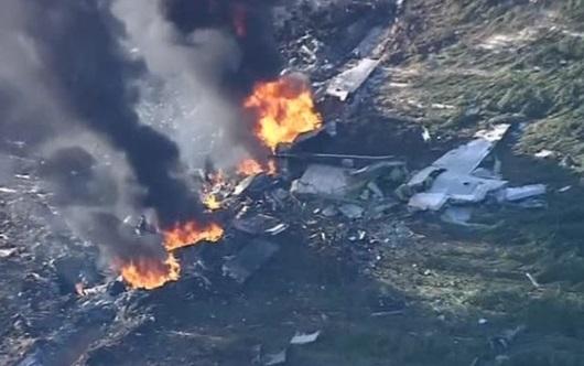 Phi cơ quân sự rơi xuống Mississippi, 16 người tử nạn